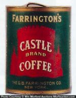 Castle Coffee Can