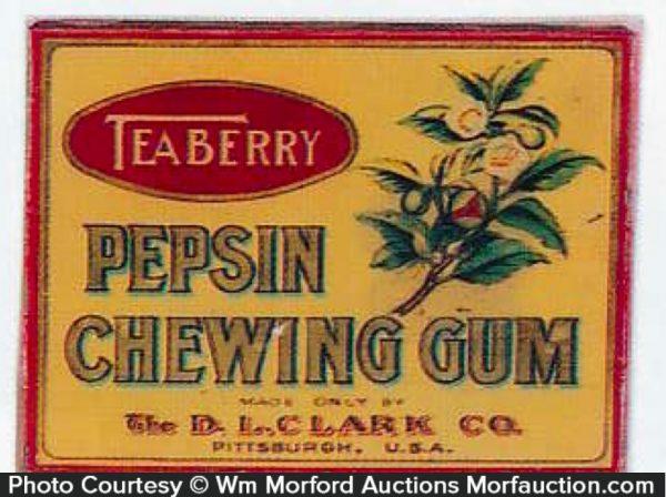 Clark's Teaberry Gum Tin