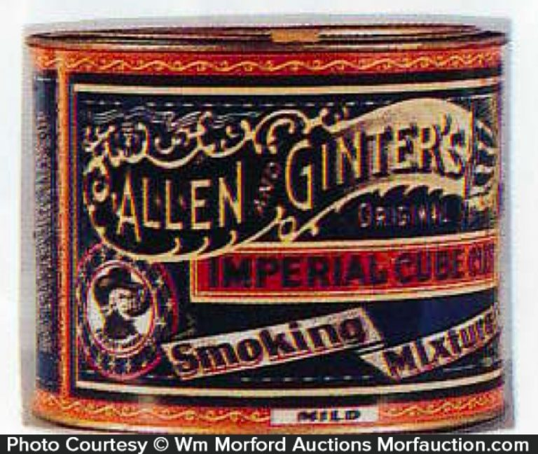 Allen & Ginter's Imperial Tobacco Tin