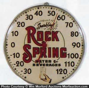 Rock Spring Thermometer