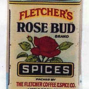 Rose Bud Spice Tin