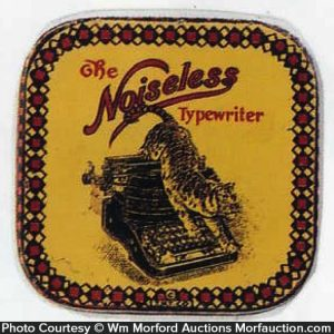 Noiseless Typewriter Ribbon Tin