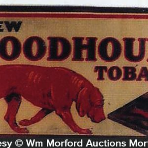 Bloodhound Tobacco Sign