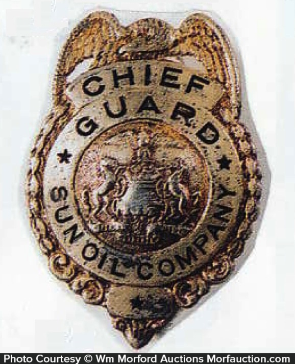 Sun Oil Company Badge