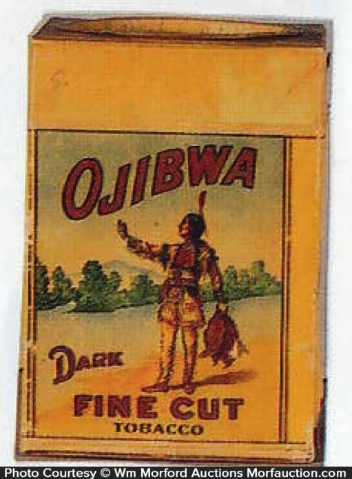 Ojibwa Tobacco Carton