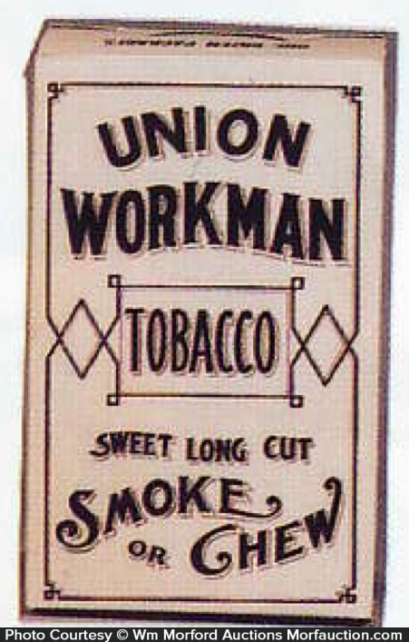Union Workman Tobacco Box