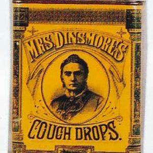 Mrs. Dinsmore's Cough Drops Tin
