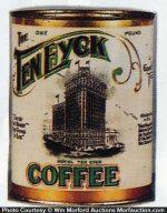 Ten Eyck Coffee Can