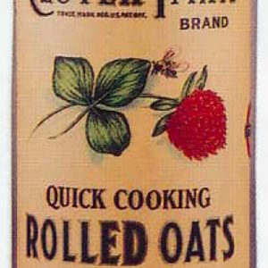 Clover Farm Oats Box