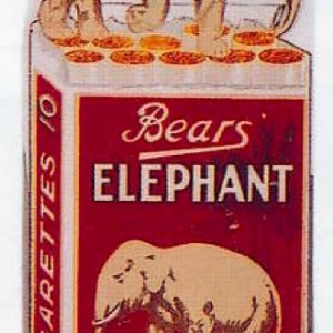 Elephant Cigarettes Sign