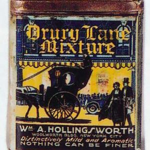 Drury Lane Tobacco Tin