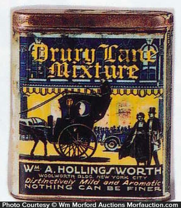 Drury Lane Tobacco Tin