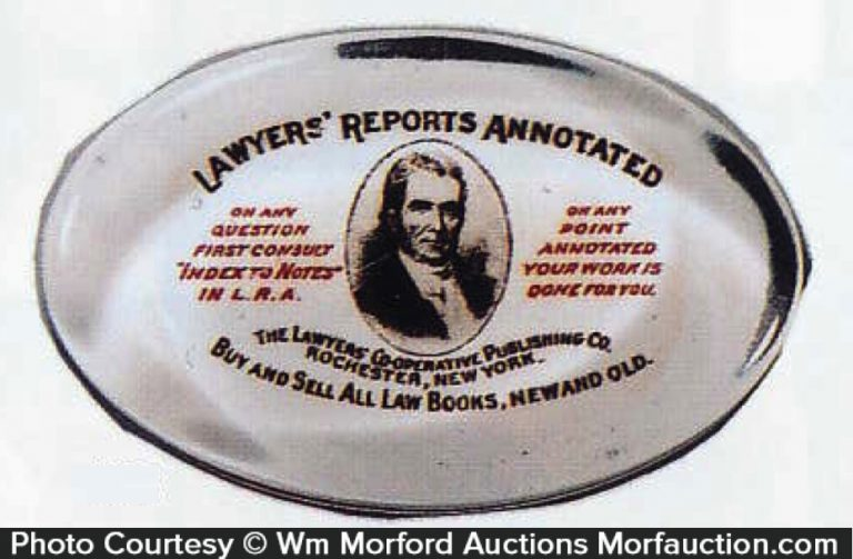 Lawyers Reports Paperweight