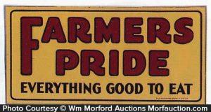 Farmers Pride Sign