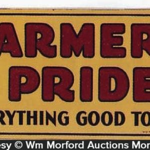 Farmers Pride Sign
