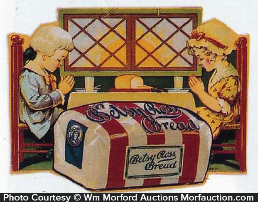 Betsy Ross Bread Sign