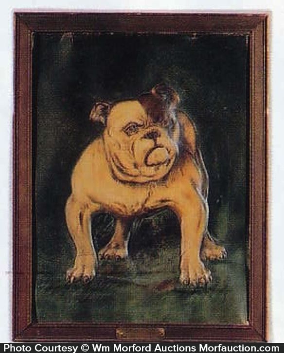 Bull Dog Cigars Sign