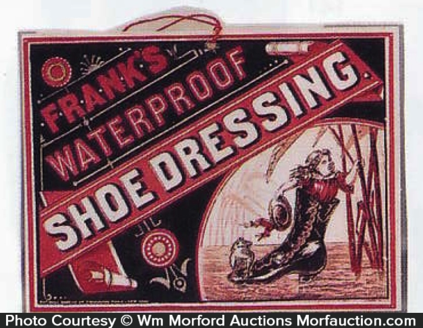 Frank's Shoe Dressing Sign