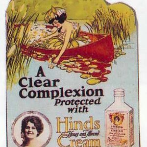 Hinds Complexion Cream Sign
