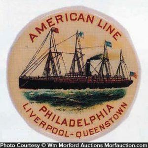 American Line Pocket Mirror