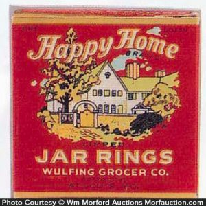 Happy Home Jar Rings Box