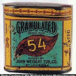 Granulated 54 Tobacco Tin Sample