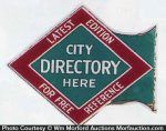 City Directory Sign