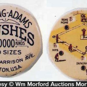 Whiting-Adams Brushes Baseball Scorekeeper