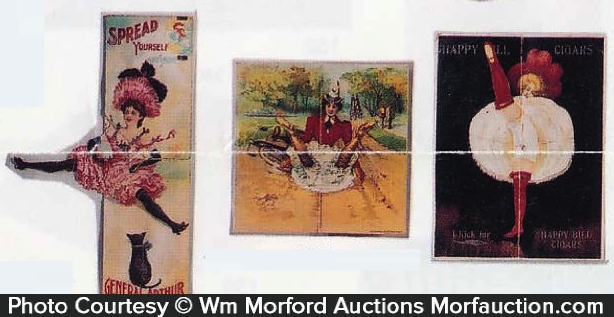 Mechanical Cigar Trade Cards