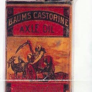 Baum's Castorine Axle Oil Can