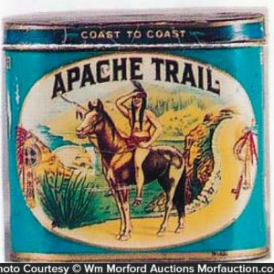 Apache Trail Cigar Can