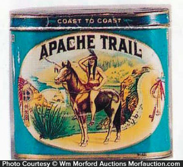Apache Trail Cigar Can
