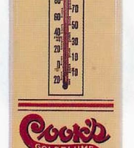 Cook's Goldblume Beer Thermometer