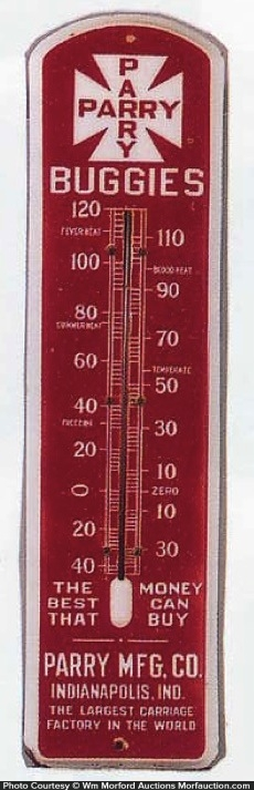 Parry Buggies Thermometer