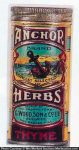 Anchor Herbs Spice Tin