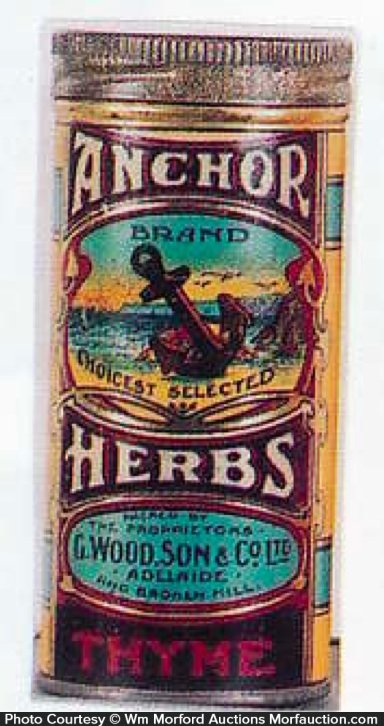 Anchor Herbs Spice Tin
