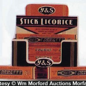 Y & S Licorice Display