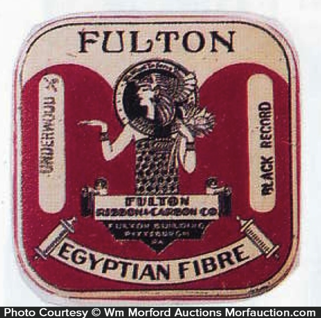 Fulton Typewriter Ribbon Tin