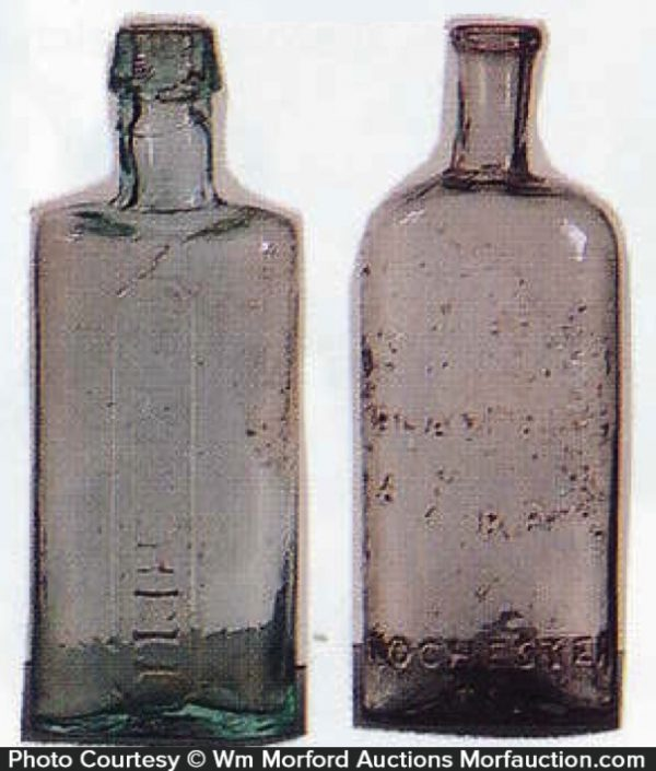 Dr. Mitchell Pontiled Bottles