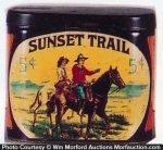 Sunset Trail Cigars Can