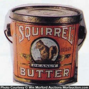 Squirrel Peanut Butter Pail