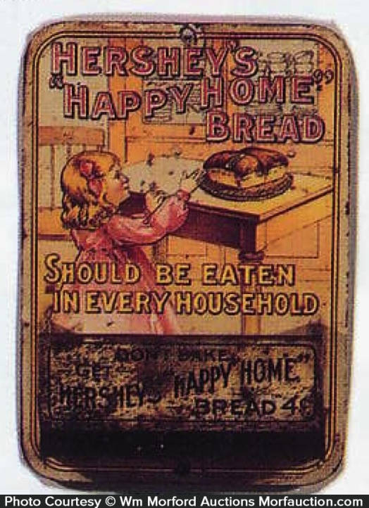 Hershey's Happy Home Bread Match Holder