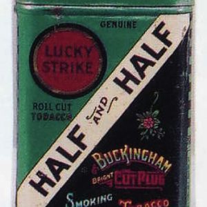 Half & Half Smoking Tobacco Tin Sample