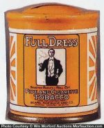 Full Dress Tobacco Can