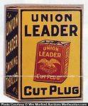 Union Leader Tobacco Box