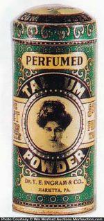 Ingram Talcum Powder Tin