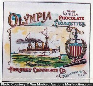 Olympia Chocolate Cigarettes Wrapper