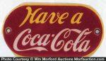 Have A Coca-Cola Door Push