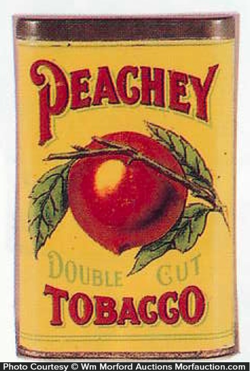 Peachy Pocket Tobacco Tin