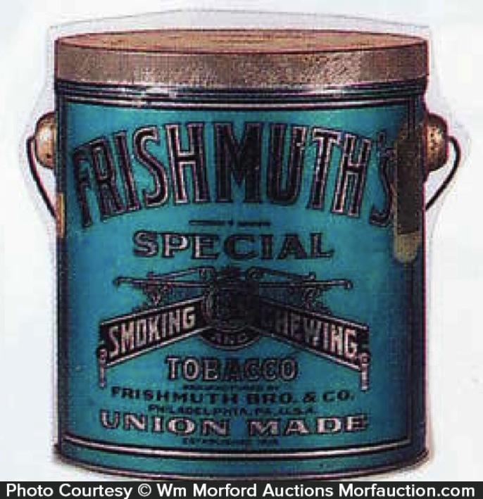 Frishmuth Tobacco Pail